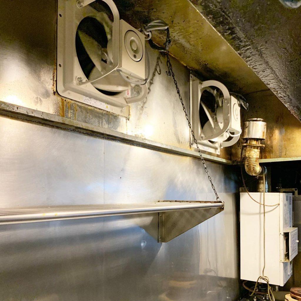 厨房設備器具 取替工事