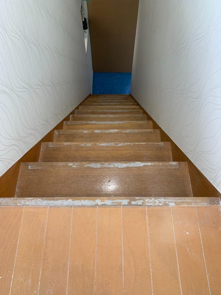 北九州市小倉北区階段リフォーム工事