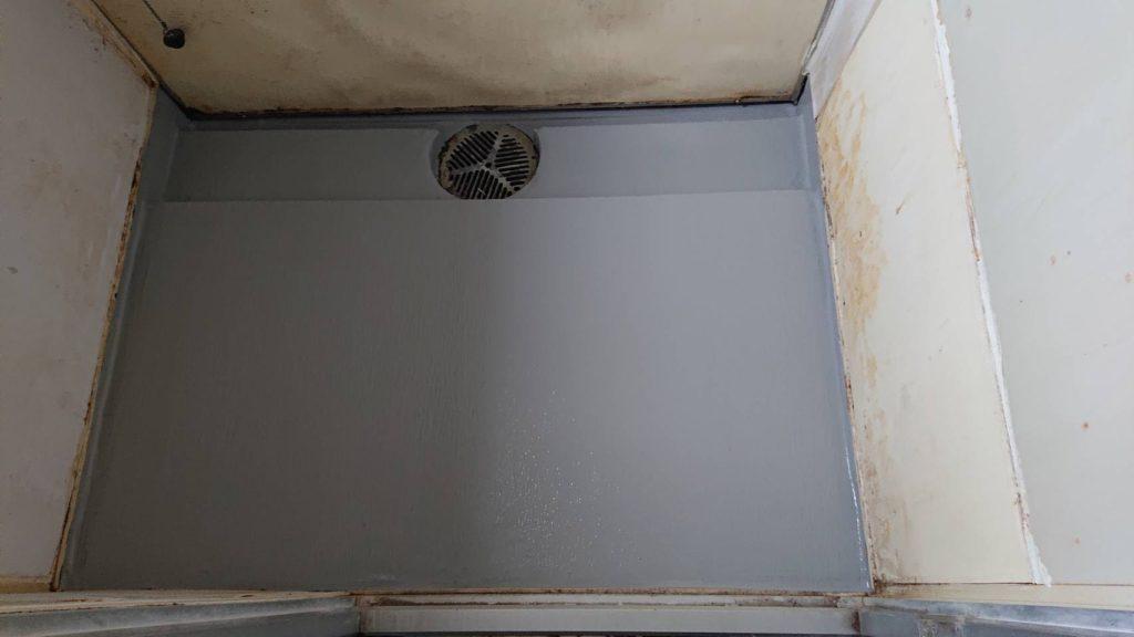 マンション浴室防水工事