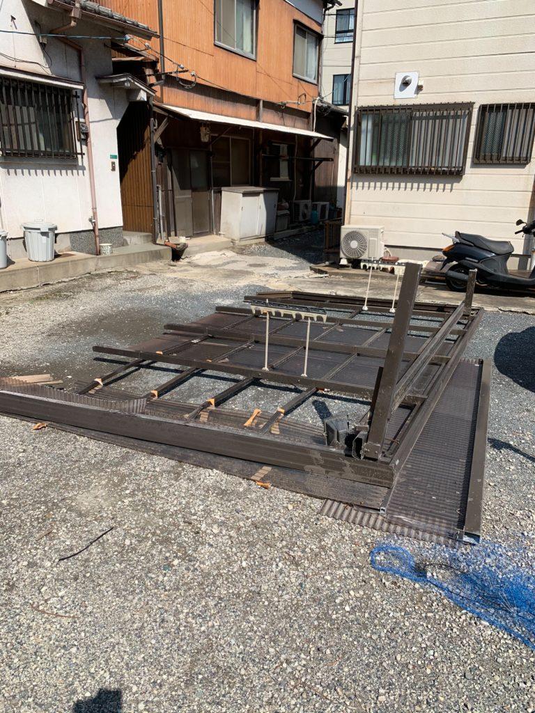 小倉北区Y様邸 バルコニーテラス復旧工事