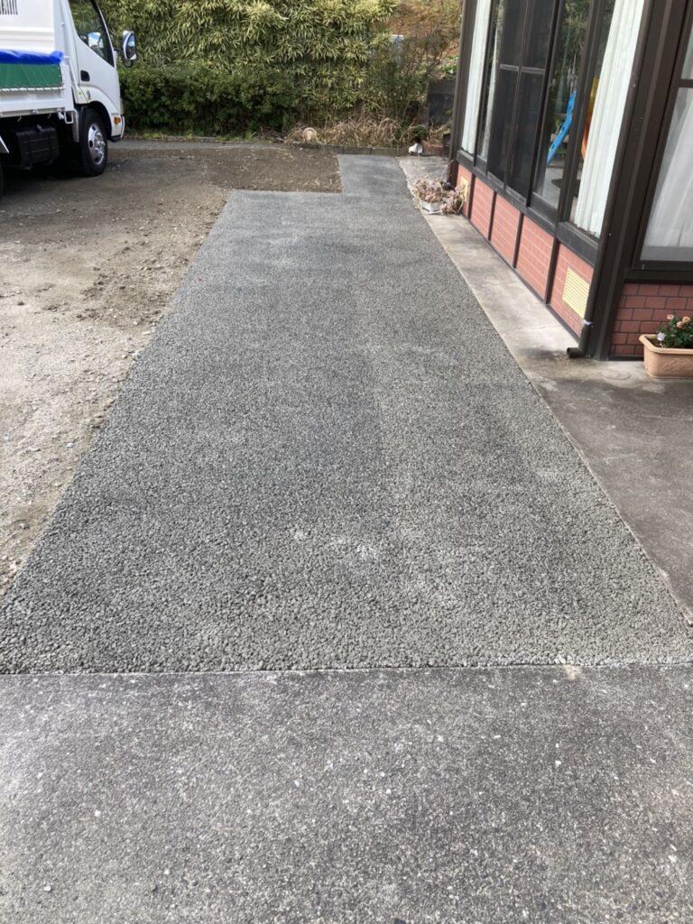 小倉南区 住宅外構工事