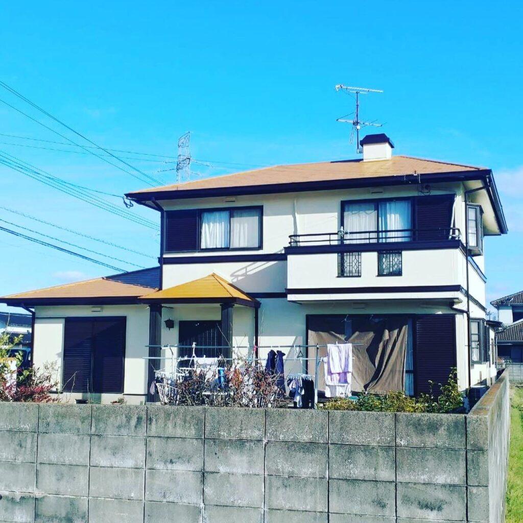 直方市植木 住宅塗装工事