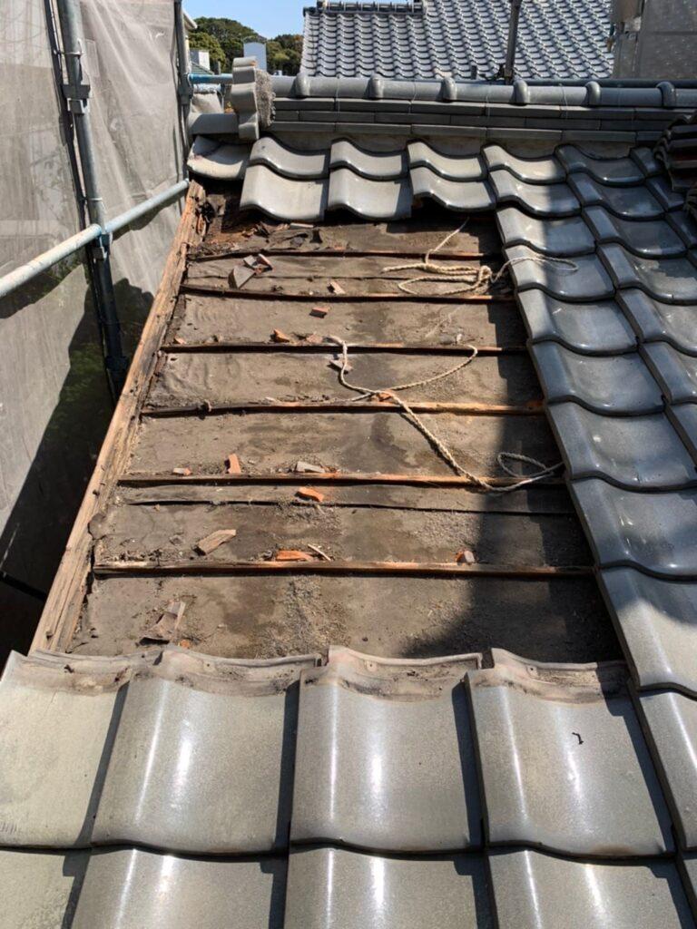 小倉南区 屋根部分改修工事