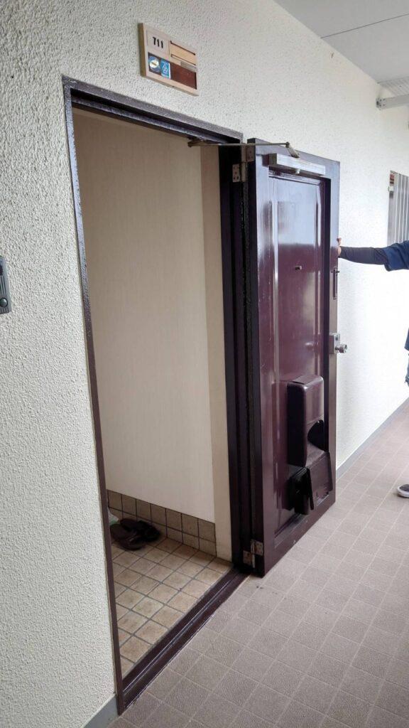 北九州市小倉北区 玄関ドア改修工事